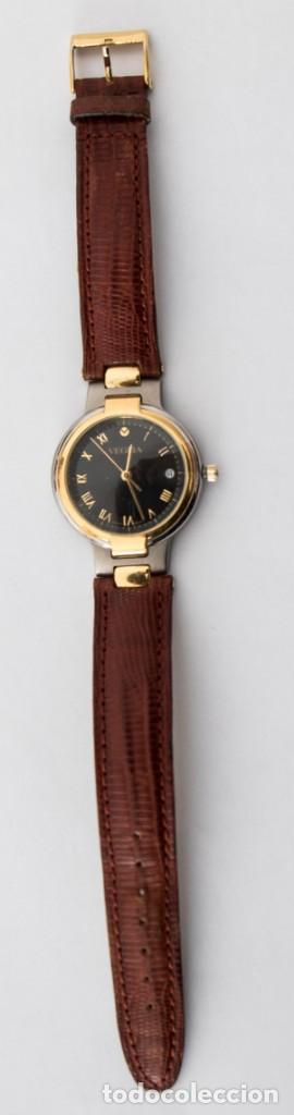 Relojes automáticos: Reloj Caballero Suizo de titanio VEGLIA con calendario - Resistente al agua 30m - Funcionando - Foto 4 - 190884058