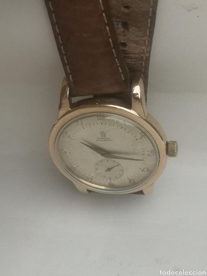 Relojes automáticos: Reloj omega automático bumper de 1940 en ıamina 80 micrones de oro 18k - Foto 4 - 191008863