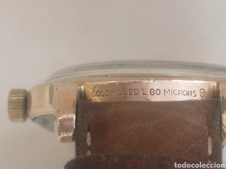 Relojes automáticos: Reloj omega automático bumper de 1940 en ıamina 80 micrones de oro 18k - Foto 5 - 191008863