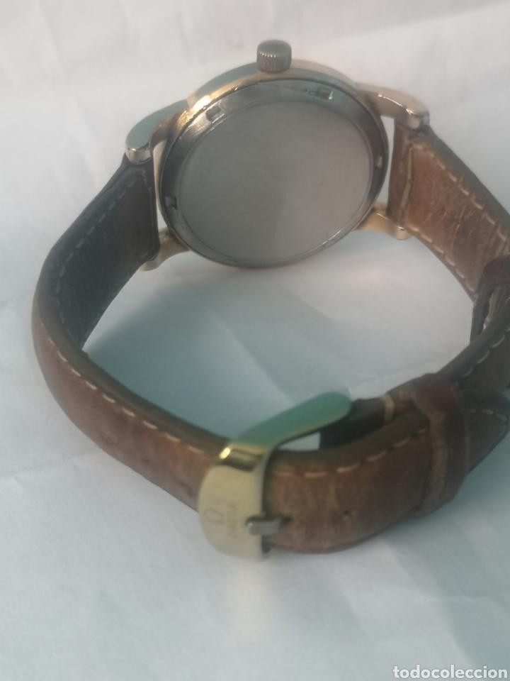 Relojes automáticos: Reloj omega automático bumper de 1940 en ıamina 80 micrones de oro 18k - Foto 7 - 191008863