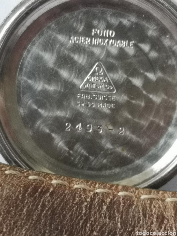 Relojes automáticos: Reloj omega automático bumper de 1940 en ıamina 80 micrones de oro 18k - Foto 10 - 191008863