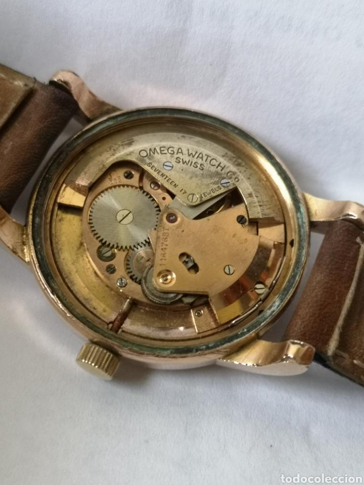 Relojes automáticos: Reloj omega automático bumper de 1940 en ıamina 80 micrones de oro 18k - Foto 11 - 191008863