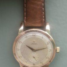 Relojes automáticos: RELOJ OMEGA AUTOMÁTICO BUMPER DE 1940 EN IAMINA 80 MICRONES DE ORO 18K. Lote 191008863