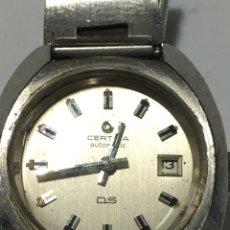 Relojes automáticos: RELOJ CERTINA DS AUTOMÁTICO TORTUGA EN FUNCIONAMIENTO. Lote 191193230