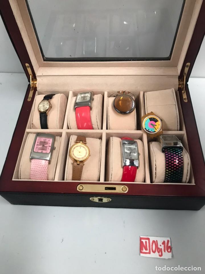 Relojes automáticos: ESTUCHE CON RELOJES - Foto 2 - 191345976