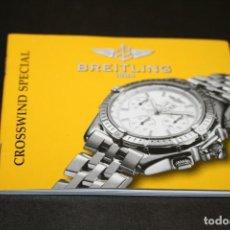 Relojes automáticos: BREITLING CROSSWIND SPECIAL MANUAL FUNCIONAMIENTO. Lote 191481671