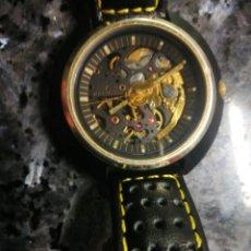 Relojes automáticos: RARO CITIZEN SKELETON. AÑOS 70. Lote 191655930