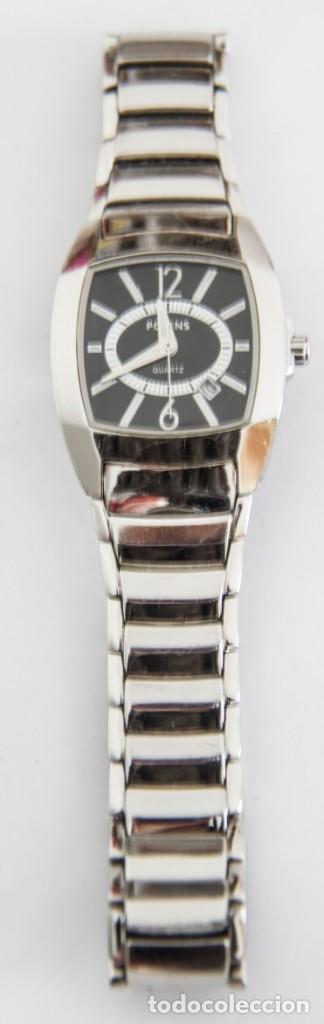 Relojes automáticos: Reloj de acero Potens - Cuarzo - Resistencia al agua 50 Metros - Funcionando - Foto 5 - 191718817
