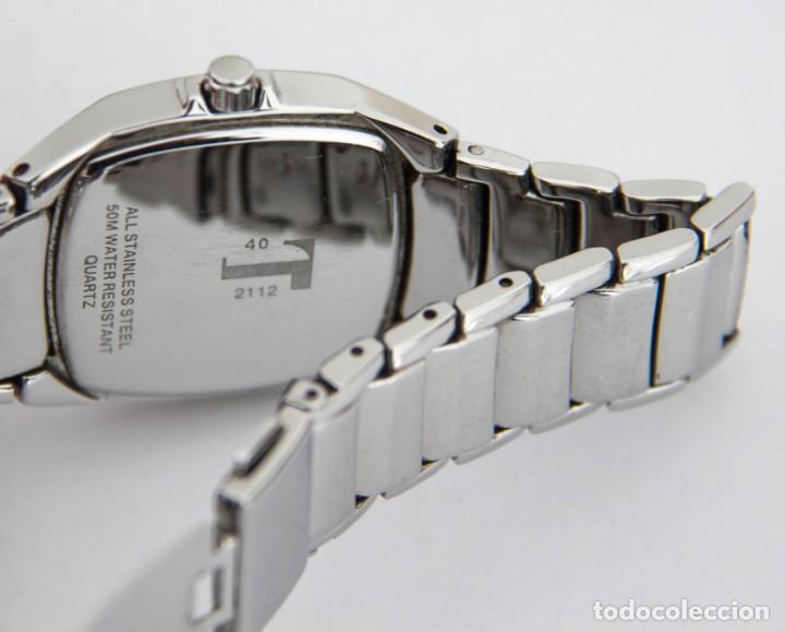 Relojes automáticos: Reloj de acero Potens - Cuarzo - Resistencia al agua 50 Metros - Funcionando - Foto 3 - 191718817