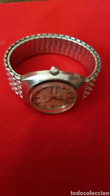 Relojes automáticos: RELOJ SWSS SAVOY 25RUVIS AUTOMATICO DOBLE CALENDARIO FUNCIONA PERFECTAMENTE DIÁMETRO 37MLTROS - Foto 2 - 191771437