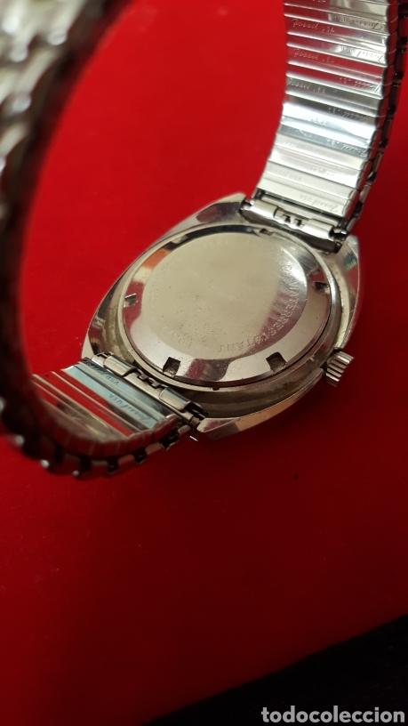 Relojes automáticos: RELOJ SWSS SAVOY 25RUVIS AUTOMATICO DOBLE CALENDARIO FUNCIONA PERFECTAMENTE DIÁMETRO 37MLTROS - Foto 5 - 191771437