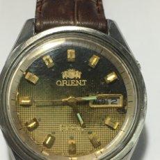 Relojes automáticos: RELOJ ORIENT AUTOMÁTICO 21 JEWELS ESFERA ESPECIAL BOTÓN DE CAMBIO RAPIDO. Lote 191918837