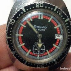 Relojes automáticos: RELOJ AUTOMÁTICO CENTENARIO DE SUBMARINISTA 15 RUBIS FUNCIONANDO ESCASO. Lote 193186461