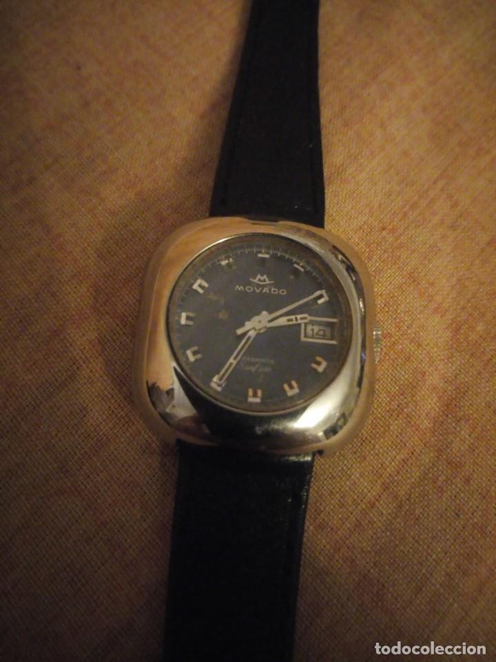 Relojes automáticos: reloj movado kingmatic surf 360 años 70 señora - Foto 3 - 193970232