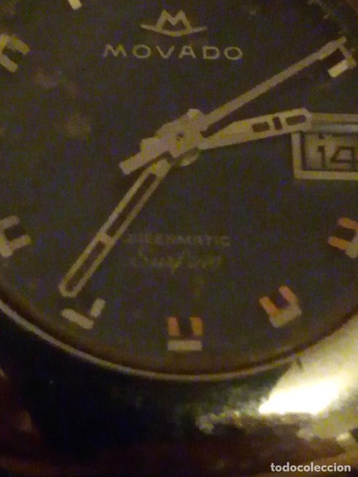 Relojes automáticos: reloj movado kingmatic surf 360 años 70 señora - Foto 4 - 193970232