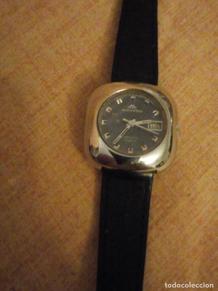 Relojes automáticos: reloj movado kingmatic surf 360 años 70 señora - Foto 5 - 193970232