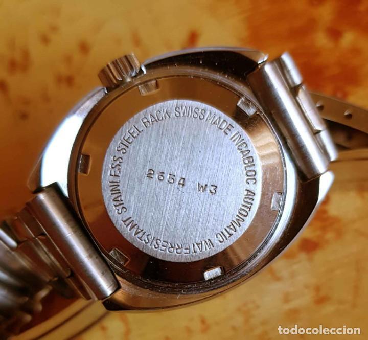 Relojes automáticos: RELOJ THERMIDOR AUTOMÁTICO, VINTAGE , NOS (NEW OLD STOCK) - Foto 5 - 194011786