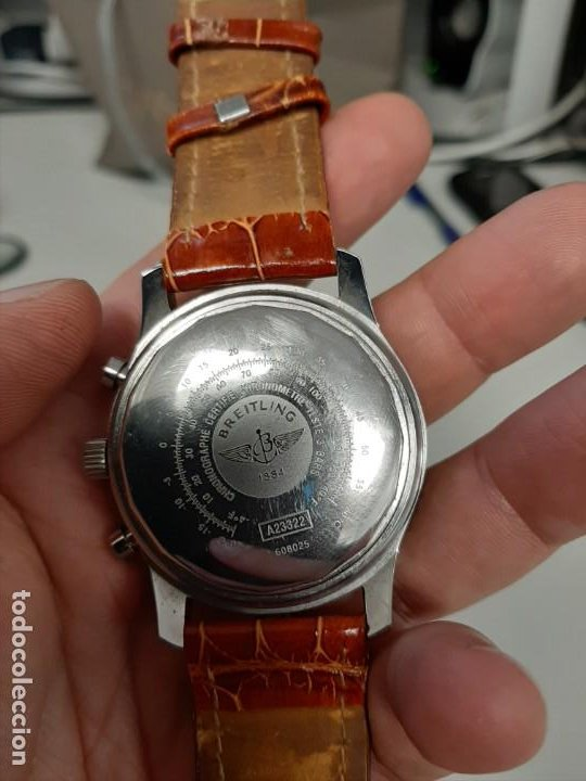 Relojes automáticos: Reloj breitling 1884. Automático .repro - Foto 4 - 194098986