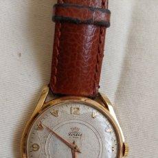 Relojes automáticos: ANTIGUO RELOJ FORTIS PLACA ORO 20 MICRONS 22 RUBIS. Lote 194180851