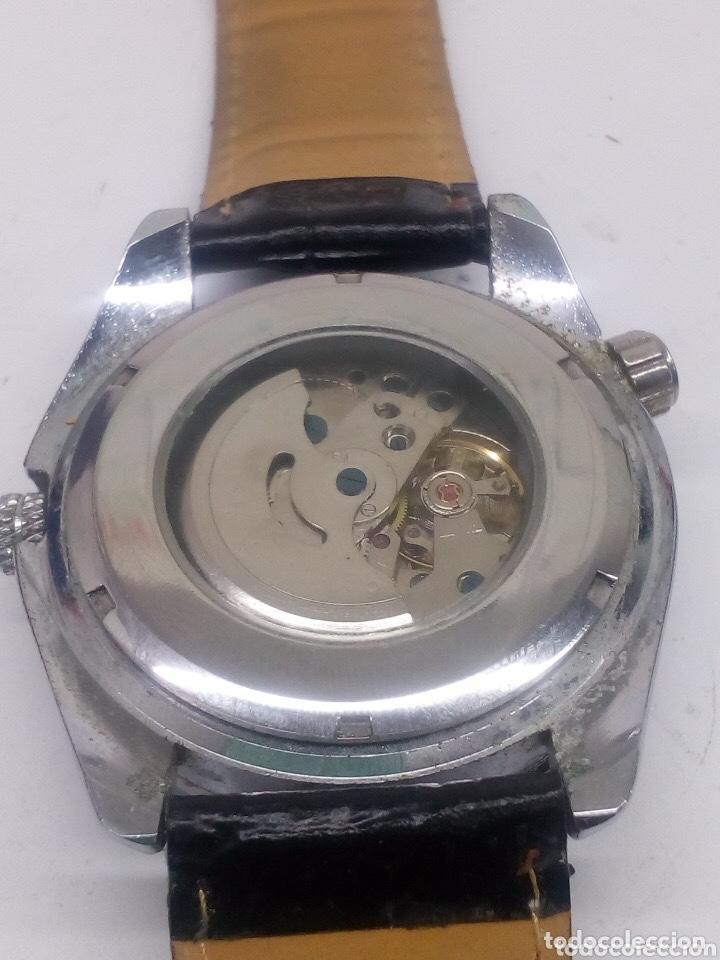 Relojes automáticos: reloj automatico esfera giratoria Goer funcionando de hombre - Foto 2 - 194307098