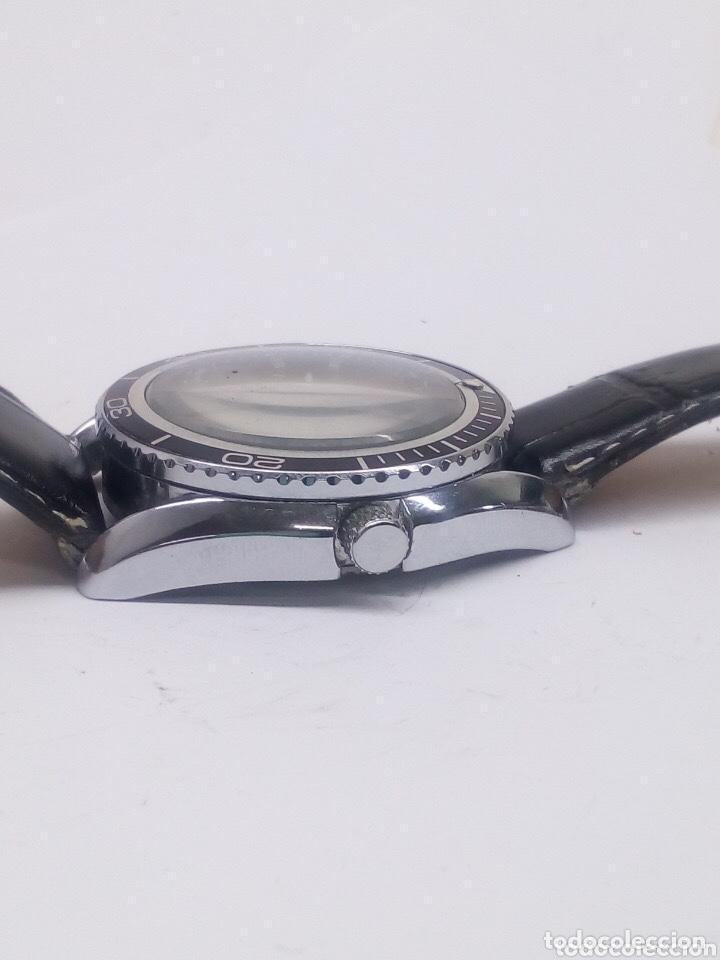 Relojes automáticos: reloj automatico esfera giratoria Goer funcionando de hombre - Foto 3 - 194307098