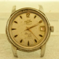 Relojes automáticos: ENICAR SHERPA AUTOMATICO ULTRASONIC ACERO 36MM. Lote 194318246