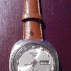 Relojes automáticos: ANTIGUO RELOJ SEIKO AUTOMATIC 6119 - 8430 CAJA DE ACERO . CALENDARIO FUNCIONANDO 4,3X4 CM. . Lote 194319195