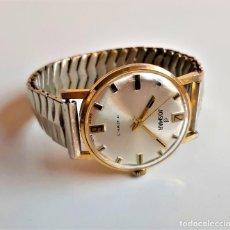 Relojes automáticos: RELOJ JOSMAR SUIZO 17 JEWELS MECANICO - CAJA 35.MM DIAMETRO BANDA EXTENSIBLE METAL (FUNCIONA PERFECT. Lote 194339328