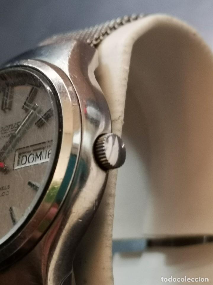 Relojes automáticos: reloj automático exactus incabloc 25 jewels - Foto 6 - 194525813