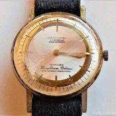 Relojes automáticos: RELOJ JAGUAR SUIZO 17 JEWELS MECANICO - CAJA 35.MM DIAMETRO. Lote 194531310