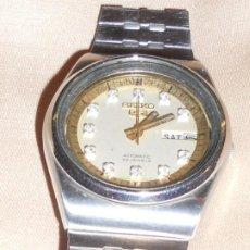 Relojes automáticos: RELOJ SEIKO 5 AUTOMATICO AÑOS 70. Lote 194624677