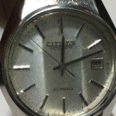 Relojes automáticos: RELOJ CITIZEN AUTOMÁTICO 21 JEWELS EN FUNCIONAMIENTO. Lote 194684958