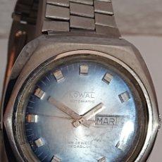 Relojes automáticos: RELOJ KOWAL AUTOMÁTICO 25 JEWELS INCABLOC FUNCIONA. Lote 194714358
