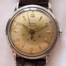 Relojes automáticos: RELOJ AUTOMATICO ZODIAC AUTOGRAPHIC CON RESERVA DE CARGA VINTAGE. Lote 194814451
