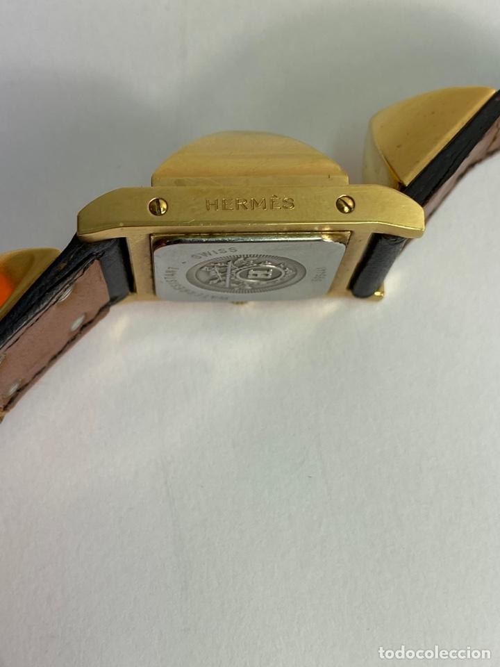 Relojes automáticos: REOJ HERMES PARA MUJER. MODELO MEDOR. S.XX. - Foto 3 - 194860853