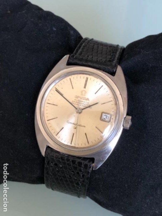 Relojes automáticos: RELOJ OMEGA AUTOMATICO CONSTELLATION CALIBRE 564 AÑOS 60 - Foto 2 - 194894948