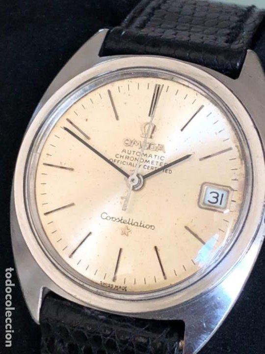 Relojes automáticos: RELOJ OMEGA AUTOMATICO CONSTELLATION CALIBRE 564 AÑOS 60 - Foto 3 - 194894948