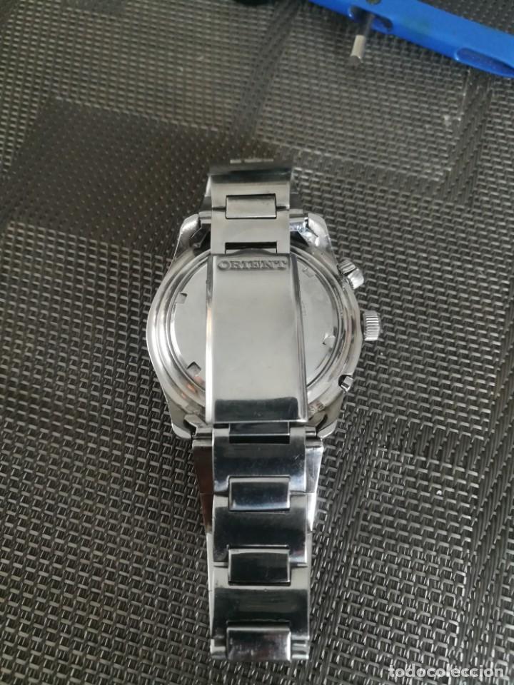 Relojes automáticos: Orient King Diver Negro 2 ventanas Años 60's - Foto 6 - 194906728
