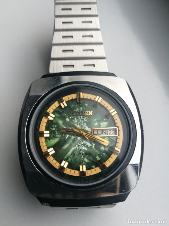 RARO CITIZEN 61-0518. FINALES DE LOS AÑOS 60 (Relojes - Relojes Automáticos)