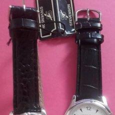 Relojes automáticos: LOTE DE 2 RELOJES NUEVOS. MARCAS NAP TIME Y STEVENSON . Lote 194934236