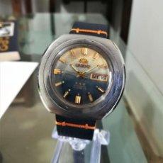 Relojes automáticos: ORIENT AUTOMATICO ANTIGUO GRANDE 40MM TRES EXTRELLAS. Lote 194948611