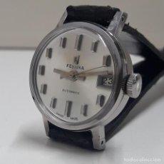 Relojes automáticos: RELOJ VINTAGE FESTINA DE SEÑORA AUTOMÁTICO CALIBRE ETA 2551 TOTALMENTE NUEVO A ESTRENAR. Lote 194956545