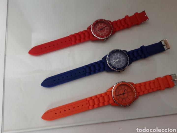 Relojes automáticos: Lote 5 relojes coloridos - Foto 5 - 195004048