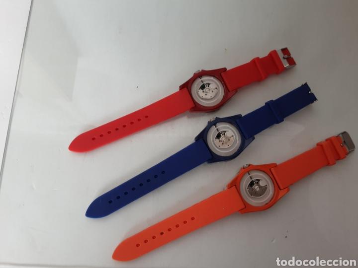 Relojes automáticos: Lote 5 relojes coloridos - Foto 6 - 195004048