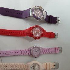 Relojes automáticos: LOTE 5 RELOJES COLORIDOS. Lote 195004048