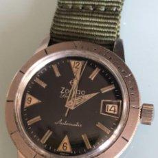 Relojes automáticos: RELOJ ZODIAC DIVER SEA WOLF AÑOS 60. Lote 195050148