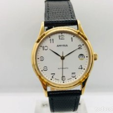 Relojes automáticos: VINTAGE RELOJ AMYRIA SWISS MADE ETA 2824-2 NEW OLD STOCK. Lote 195056567