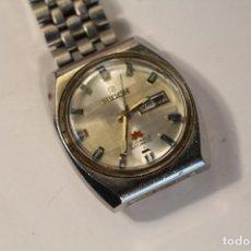 Relojes automáticos: RELOJ DE PULSERA MARCA RICOH AUTOMATICO DE 21 JEWELS, CORREA DE ACERO Y CALENDARIO, FUNCIONANDO . Lote 195065935