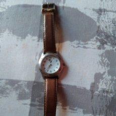 Relojes automáticos: RELOJ CON ESCUDO DE EQUIPO DE FÚTBOL UNIÓ ATLÉTICA D'HORTA. FUNCIONANDO. Lote 195107537