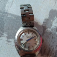 Relojes automáticos: RELOJ DUWARD AQUASTAR AUTOMÁTICO 100M. CON CALENDARIO.FUNCIONANDO.. Lote 195110832